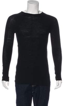 Boris Bidjan Saberi 2017 Merino Wool Patterned Sweater