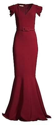 Michael Kors Women's Cap-Sleeve Mermaid Gown