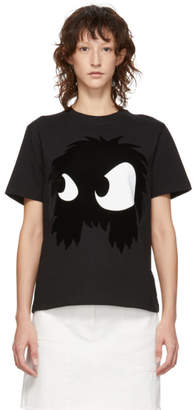 McQ Black Mad Chester Boyfriend T-Shirt