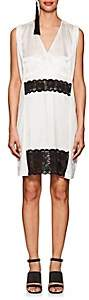 MM6 MAISON MARGIELA Women's Slip-Detailed Cotton Dress-White