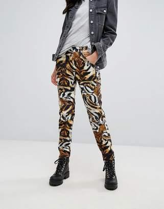 G Star (ジースター) - G-Star 5622 Elwood X 25 Pharrell Jean in Tiger Print