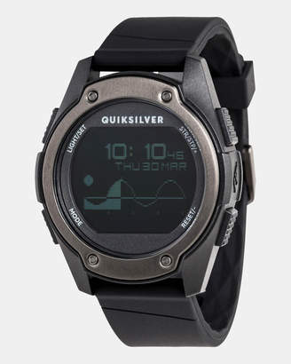 Quiksilver Mens Stringer Tide 46mm Silicone Watch