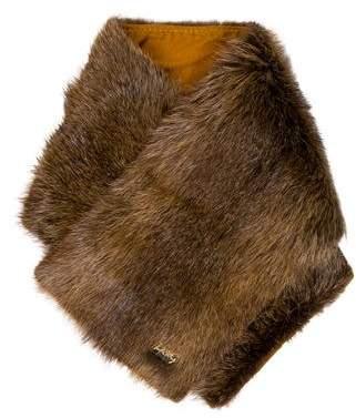 Dolce & Gabbana Dyed Fur Stole