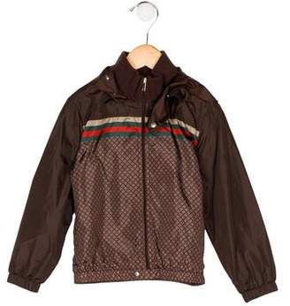 Gucci Boys' Lightweight Hooded Jacket