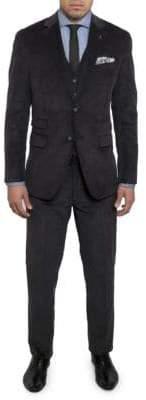Michael Bastian Slim-Fit Notch Lapel Vested Wool Suit