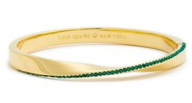 Women's Kate Spade New York Do The Twist Pave Bangle $68 thestylecure.com