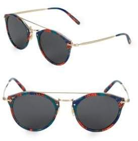 Oliver Peoples Remick 50MM Browline Cateye Sunglasses