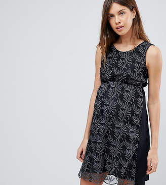 Mama Licious Mama.licious Mamalicious Printed Dress