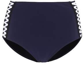Jonathan Simkhai Lace-up swim bottoms