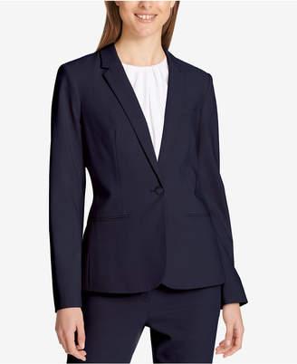 Calvin Klein One-Button Blazer, Regular & Petite