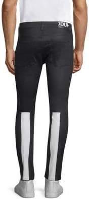 HUGO Astian Skinny Contrast Stripe Jeans