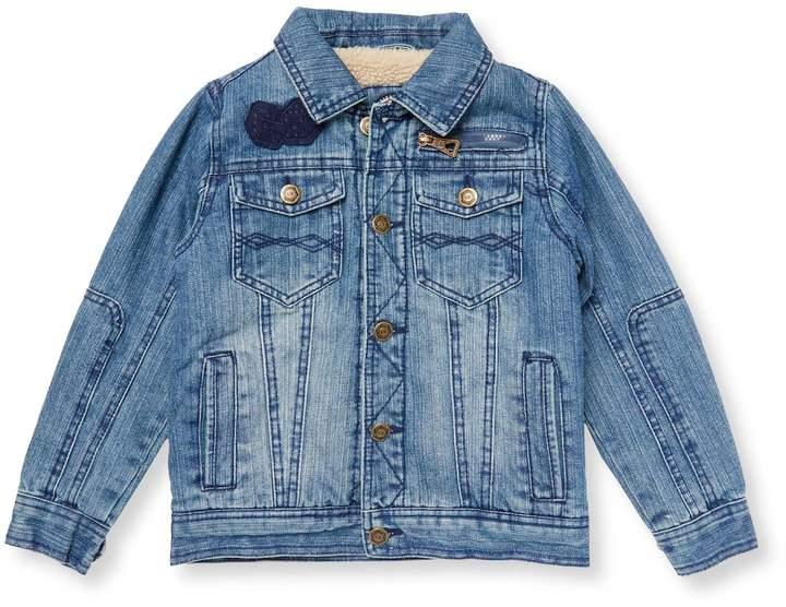 Boy's Patch Denim Jacket