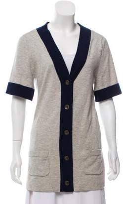 Rag & Bone Cashmere Short Sleeve Cardigan