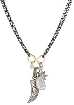 Feathered Soul Men's Star Totem Charm Necklace