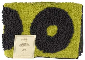 Allure Home Creation Textured Rings Bath Rug