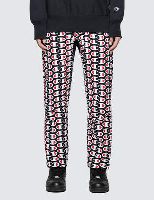 Champion Reverse Weave All Over Print Sweat Pants