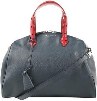 Myriam Schaefer Blue Leather Handbags
