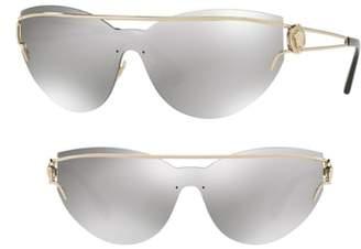 Versace Rock Icons Medusa 138mm Rimless Shield Sunglasses