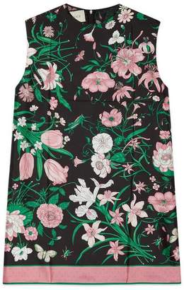 Gucci Tunic top with Flora print