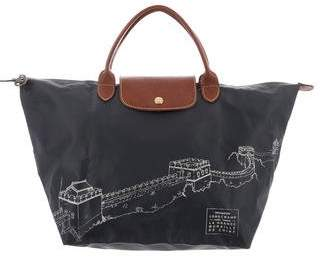 Longchamp Great Wall Le Pliage Tote