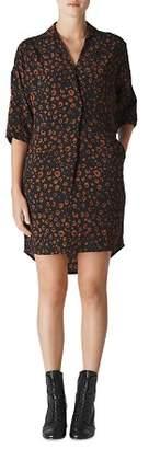 Whistles Lola Cheetah-Print Dress