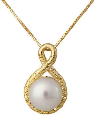 ADI Paz 14K Gold Cultured Pearl Pendant Necklac e