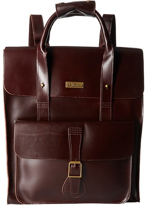 Dr. Martens - Leather Backpack Backpack Bags $248 thestylecure.com