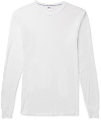 Schiesser Karl Heinz Cotton T-Shirt $65 thestylecure.com
