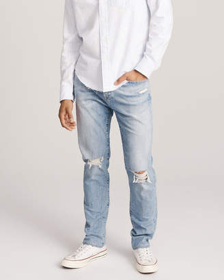 Abercrombie & Fitch Ripped Athletic Skinny Jeans