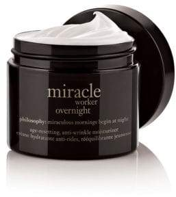 philosophy miracle worker overnight age resetting anti wrinkle moisturizer
