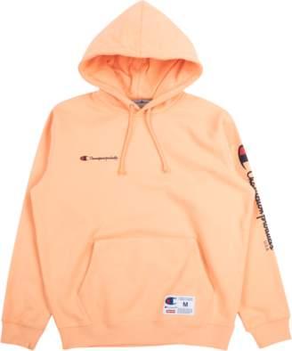 Supreme Champion Hooded Sweatshirt - Peach