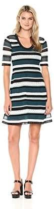 M Missoni Women's Colorful Lace Ribbon Dress