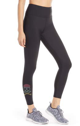 Soul by SoulCycle Pride Skull High Waist Leggings
