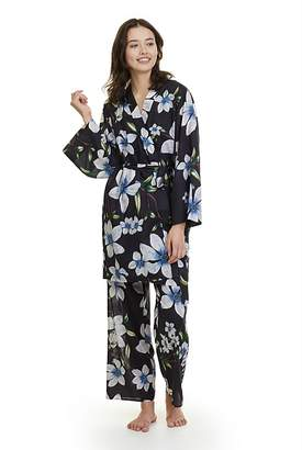 Country Road Magnolia Print Lounge Robe