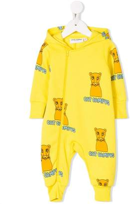 Mini Rodini Cat Campus onesie