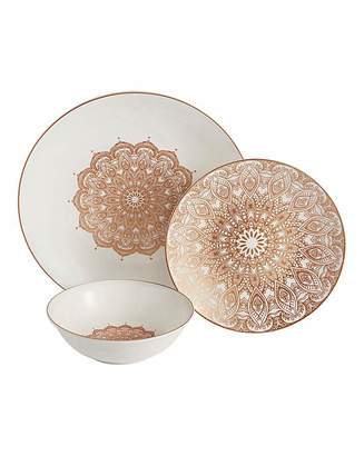 Fashion World Boho Sands 12pc Dinnerset