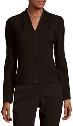 Lafayette 148 New York Women's V-Neck Long Sleeve Jacket