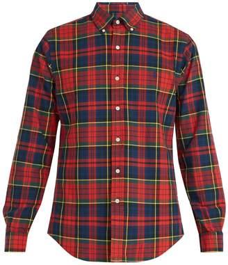 Polo Ralph Lauren Tartan-print cotton shirt