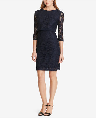 American Living Lace Popover Dress $99 thestylecure.com