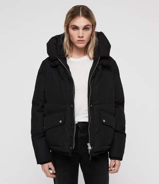 AllSaints Ester Puffer Coat
