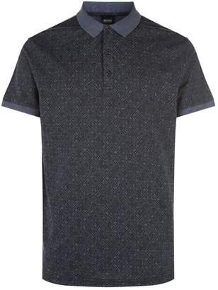 BOSS ORANGE Morrocan Tiles Polo Shirt