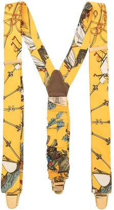 Hermes Pre-Owned logo suspenders