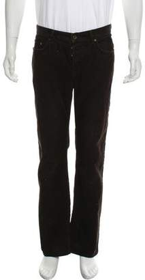 John Varvatos Flat Front Casual Corduroy Pants