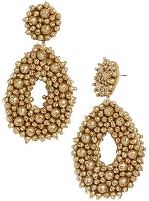 BaubleBar Melayna Beaded Teardrop Drop Earrings
