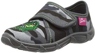 Beck Boys' Croco Low-Top Slippers,11.5 Child UK