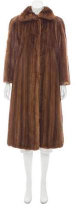 Fur Longline Mink Fur Coat