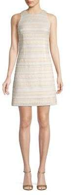 Eliza J Crocheted Lace Shift Dress