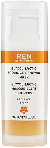 REN Glycol Lactic Radiance Renewal Mask 1.7 oz (50 ml)