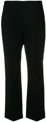 Sportmax creased cropped trousers