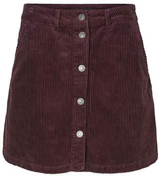 Vero Moda Clea Corduroy A-Line Skirt